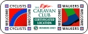 walkers and cyclists welcome, caravan club cl